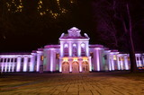 Festive Lighting of Musical Theater of the Republic of Lithuania in Kaunas - 183176505