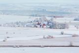 Rural winter landscape in Sweden - 183177314