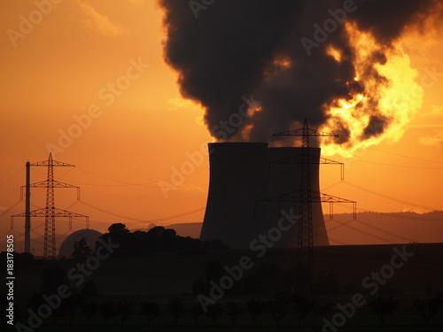 Kernkraftwerk Grohnde Poster