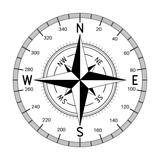 Compass wind rose - 183187599