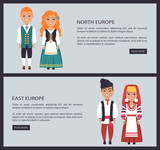 North and East Europe Images Vector Illustration - 183187785