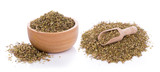 Dried Oregano on white background - 183197376
