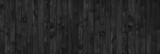 wood black table background. dark top texture blank for design - 183203363
