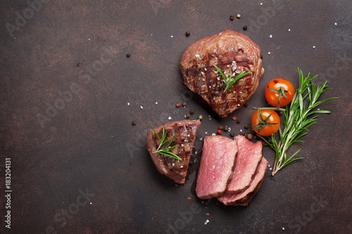 Foto op Canvas Steakhouse Grilled fillet steak