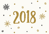 2018 Greeting Card Template - 183205356
