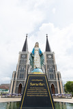 Chanthaburi,Thailand-October 11,2017, Cathedral of the Immaculate Conception, Chanthaburi, Thailand - 183209913
