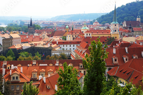 roofs of old Prague Poster