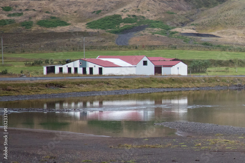 Foto op Canvas Grijs islandia