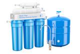 Modern Reverse Osmosis System, 3D rendering - 183233951
