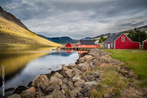 Fotobehang Zomer islandia
