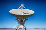 A  radio telescope from the VLA in New Mexico - 183240717