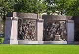 Bronze bas-reliefs - 183272314