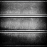 metal template with mesh background