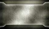 metal template design with mesh background