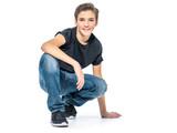 Photo of adorable teenage young happy boy - 183280584