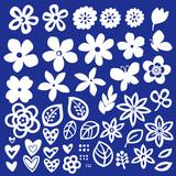 花のイラスト素材 - 183281563