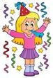 Girl celebrating theme image 1