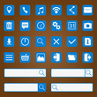 Icons for mobile applications.