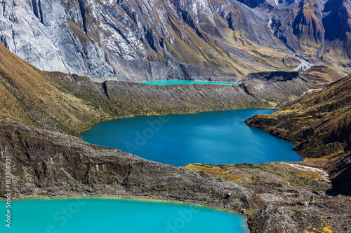 Aluminium Galyna A. Three lagoons