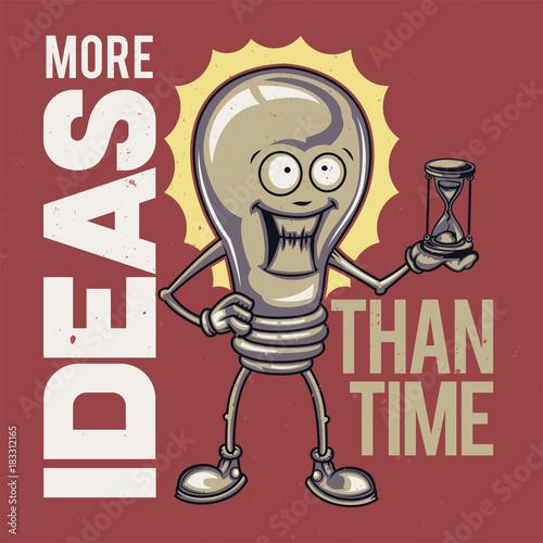 Fototapeta T-shirt or poster design.