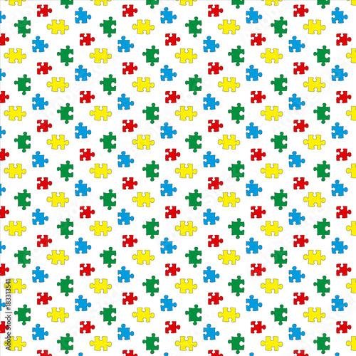Motivo de puzzle (vector)
