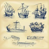 Vintage nautical collection - 183316743