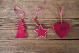 Christmas decorations of wood - 183318926