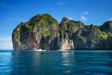 Thailändische Fischerboote in der Andermanensee