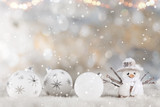 Christmas decoration with blurred background - 183327329