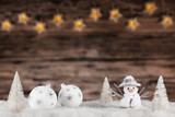 Christmas decoration with blurred background - 183327344