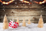 Christmas decoration with blurred background - 183327538