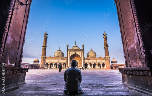 Foto Murales Jama Masjid- A place for worship