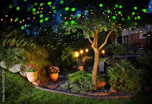 Home garden festive illumination lights