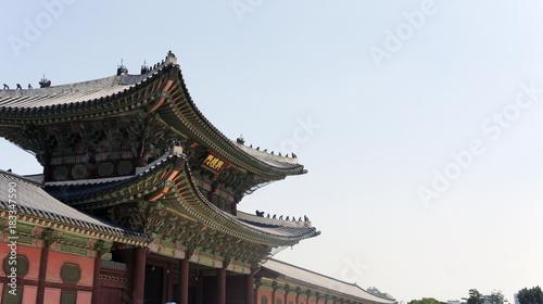 Plexiglas Seoel Gyeongbokgung Palace