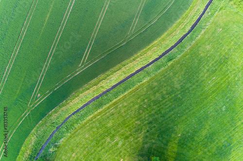 Foto op Canvas Olijf Landschaft in Deutschland