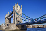 Tower Bridge on the River Thames in Tower Hamlets London England UK - 183355300