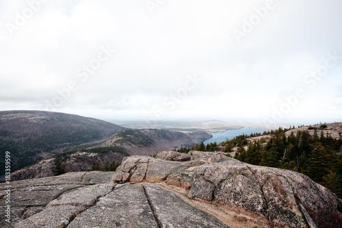 Staande foto Wit Blue Mountains