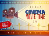 Cinema Horizontal Poster - 183373385