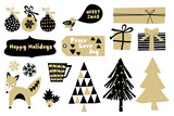 Christmas Design Elements Collection - 183377309