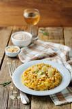 Roasted pumpkin and Pearl Barley Risotto - 183385175