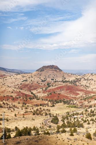 Plexiglas Beige Oregon desert