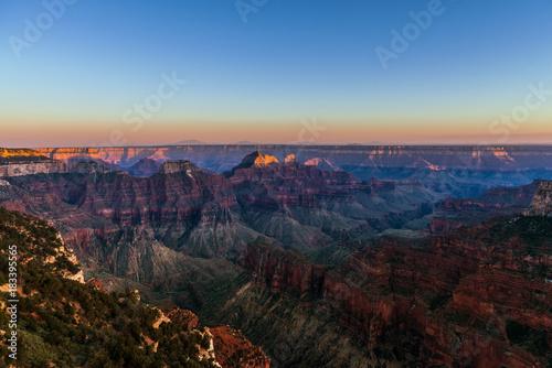 Plexiglas Chocoladebruin The North Rim Grand Canyon