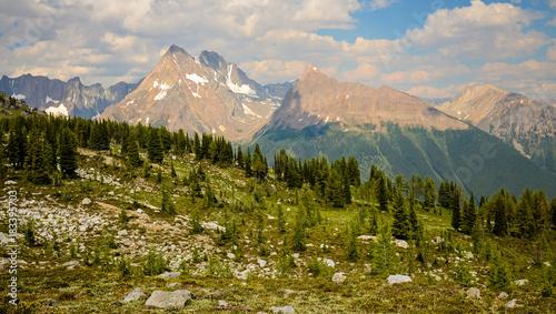Fotobehang Zomer Jumbo Pass Mountain Landscape British Columbia Canada