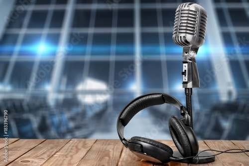 Fototapeta Microphone.