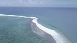 Track  of famous wave teahupoo, Tahiti French Polynesia  - 183401172