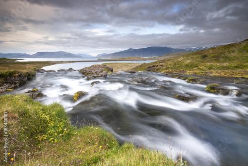Kirkjufellsfoss waterfall, Iceland  - 183440187