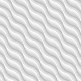 Diagonal white texture of abstract waves