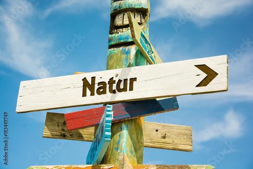 Schild 282 - Natur