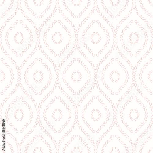 Seamless vector ornament. Modern background. Geometric modern pink pattern - 183451960