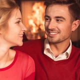 Couple celebrating new year - 183461505
